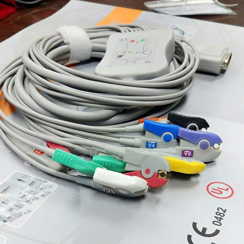 Data Cable, Nihοn Κοhden Multi-Types Using Leads, with Clip, BA-903D