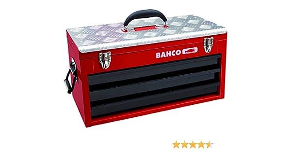 Bahco 1483KHD3RB - Caja de herramientas metálica con 3 cajones y ...