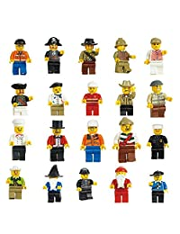 Minifigures (Pack of 20), Multi-Color