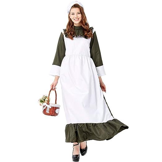 DXYQT Disfraz de Cosplay de Anime Vestido de Cocina Traje de ...