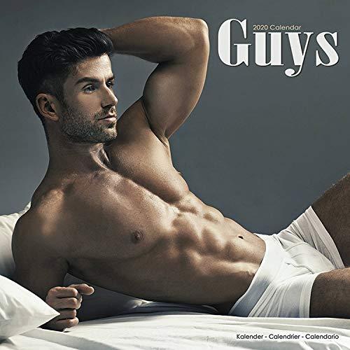 Shirtless Guy - Hot Guys Calendar - Shirtless Men Calendar - Calendars 2019 - 2020 Wall Calendars - Guys 16 Month Wall Calendar by Avonside (Multilingual Edition)