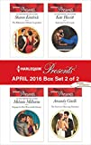 Harlequin Presents April 2016 - Box Set 2 of 2: The Billionaire's Defiant Acquisition\Engaged to Her Ravensdale Enemy\Inherited by Ferranti\The Secret to Marrying Marchesi (Wedlocked!)