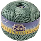 DMC Petra Yarn, 100 Percent Cotton, Turquoise, Size 3
