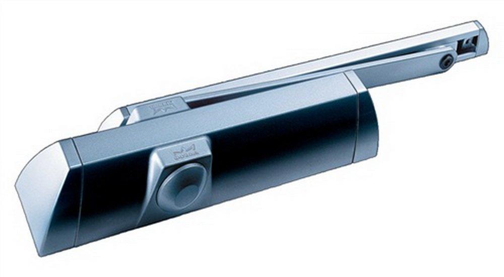 10200211 Ferme-porte TS90 avec bras coulisse blanc force 3 fixe DORMA