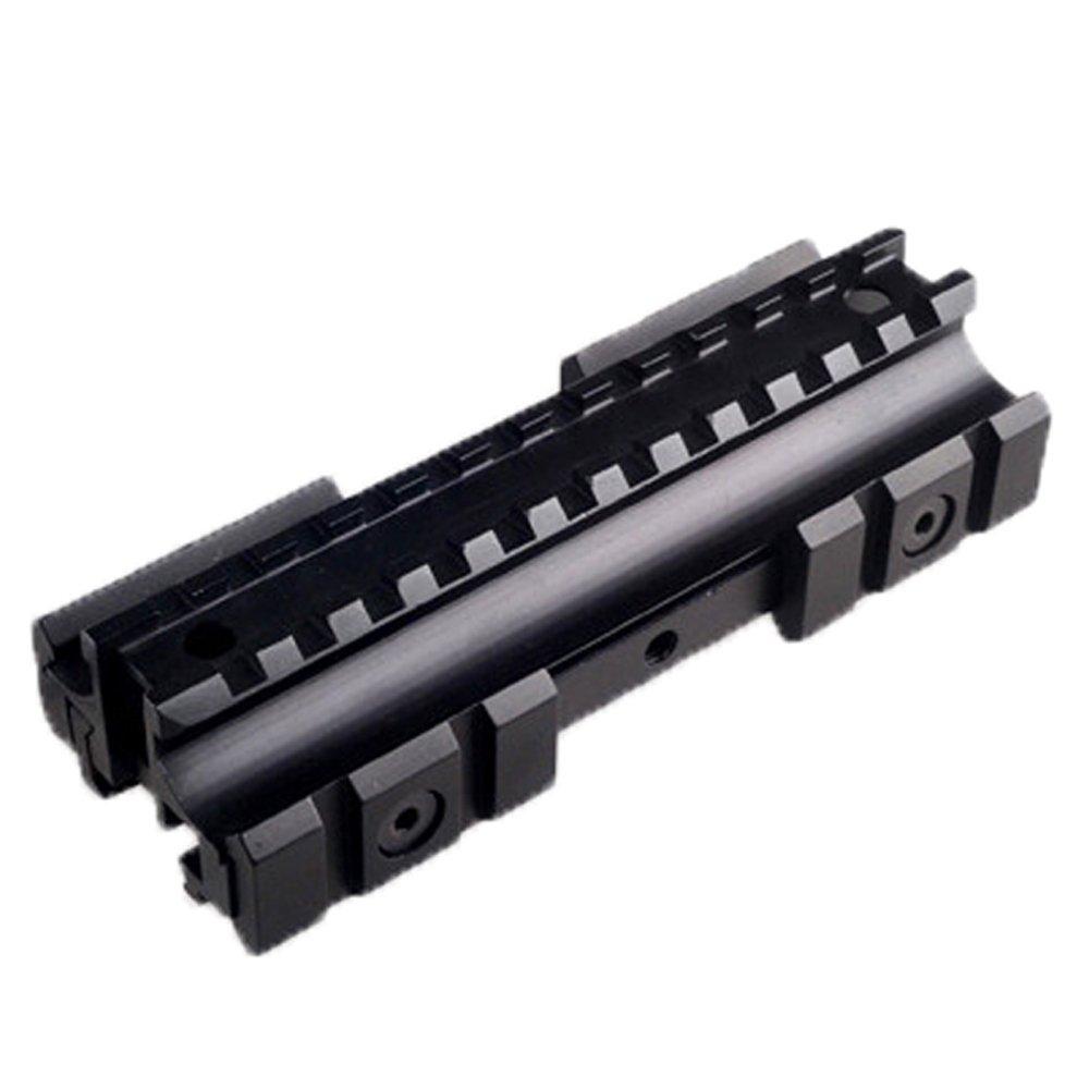 Calitte Riser Mount Rails 12-Slot Medium Profile for Red Dot Scope Optics