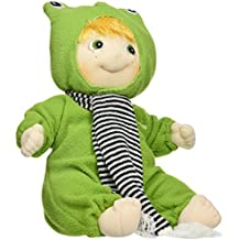 Rubens Barn® Ark Soft Doll in Animal Outfit, in Frog