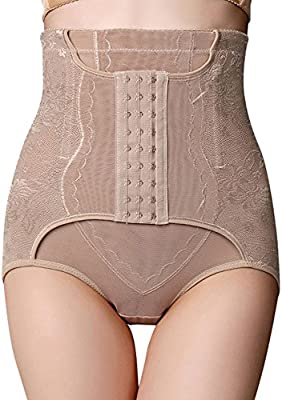 265294556bc Allywit- Women Butt Lifter Shapewear Hi-Waist Tummy Control Panties Slimmer Body  Shaper