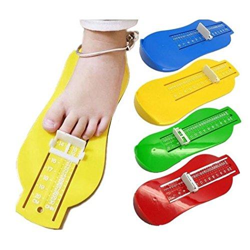 vert Pied Kit Règle Chaussure Enfant Outil Vert Hunpta Mesure Bébé Taille Enfants qvWyCTw7