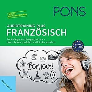PONS Audiotraining Plus - Französisch Audiobook
