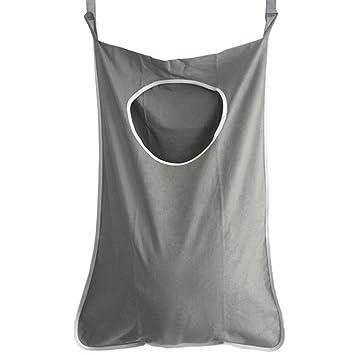 Hogar ropa sucia para colgar bolsa de puerta para ropa sucia ...