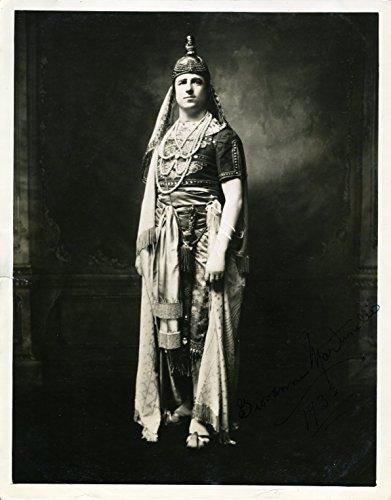 Martinelli, Giovanni. (1885-1969): Signed Photograph in Aida