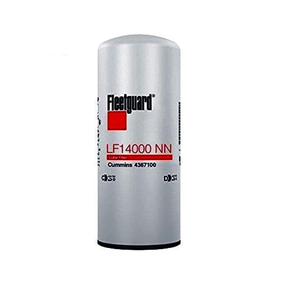 Amazon.com: Fleetguard 14000NN filtro de aceite, paquete de ...