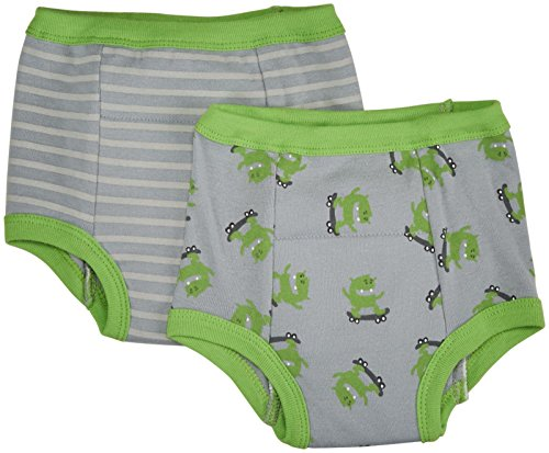 Green sprouts Training Pants, Gray Monster, 4T, 2 Count