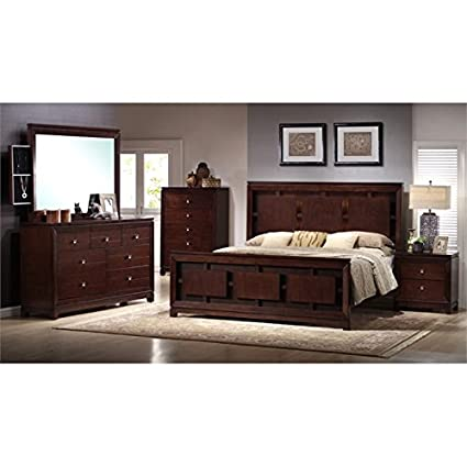 Amazon.com: Picket House Furnishings Easton 6 Piece Queen Bedroom ...