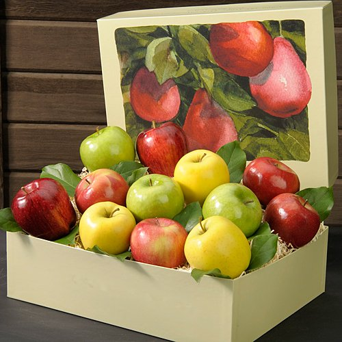 Mixed Apple Medley 7 lb Piece Fruit Gift Box