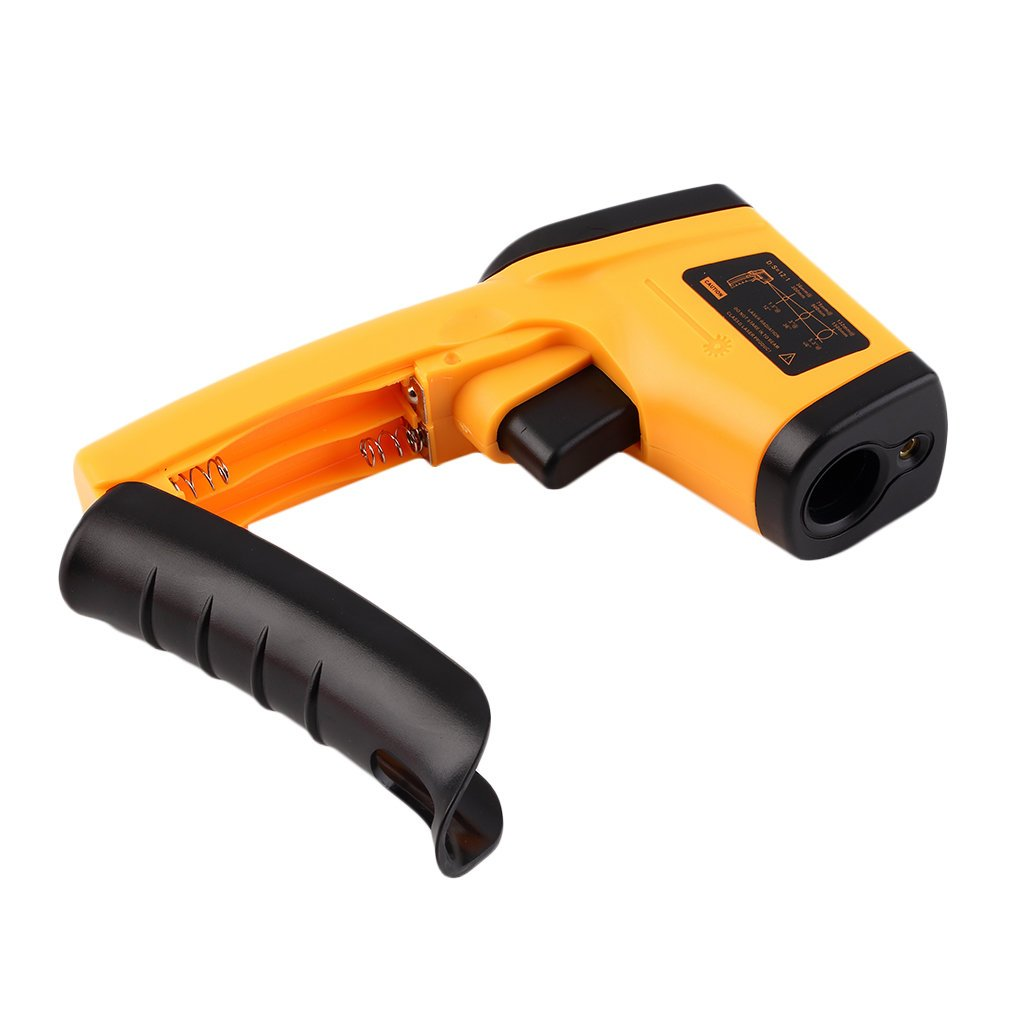 GAEA Non-contact LCD Laser Infrared Digital Temperature Gun -50~380℃(-58~716℉), Instant-read Handheld IR Infrared Thermometer with Backlight by GAEA (Image #5)