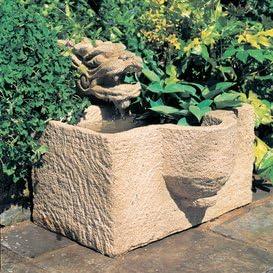 Fuente de jardín de piedra fundida – Elsass: Amazon.es: Jardín
