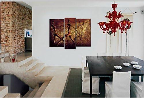 Santin Art-Chasing-Modern Canvas Art Wall Decor-Abstract Oil Painting Wall Art