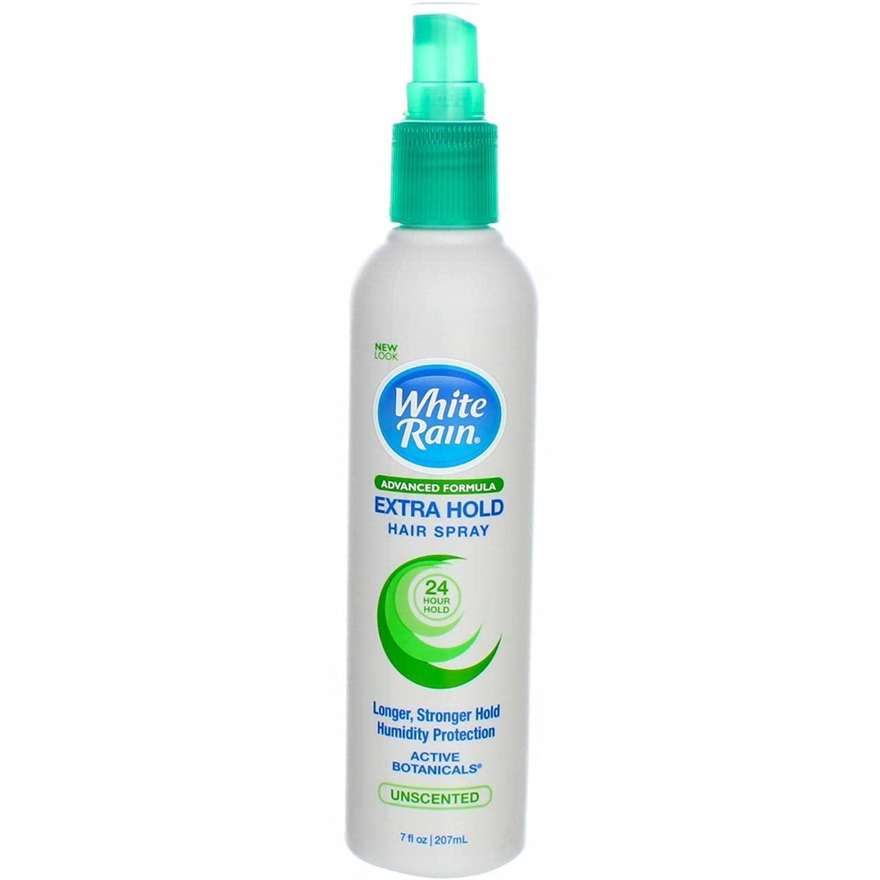 White Rain Advanced Formula Extra Hold Hair Spray 7 oz (Pack of 4)