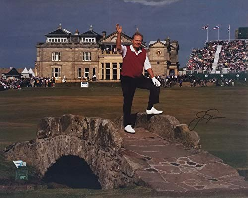 Jack Nicklaus Autographed Signed 16x20 Photo FAN Coa #A407381 - Certified Signature
