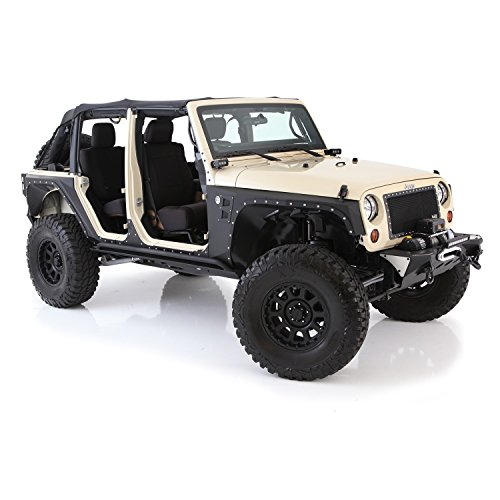 Smittybilt 76887 XRC Body Cladding for Jeep JK 4-Door