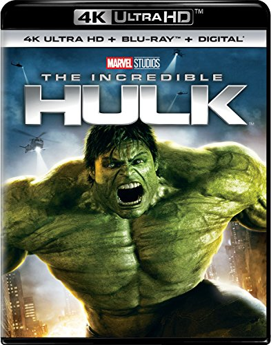 4K Blu-ray : The Incredible Hulk (With Blu-Ray, 4K Mastering, Digital Copy, 2PC)