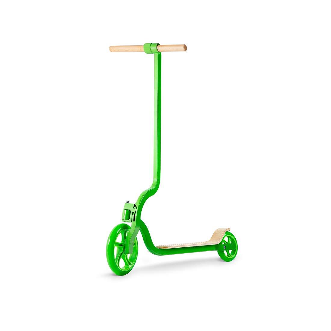 WiLEES Patinete Verde con Capacidad de 220 Libras, diseño ...