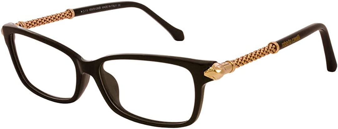 Roberto Cavalli Womens RC0759 Injected Frames BLACK 55