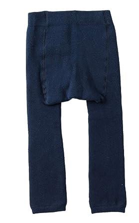 d22e21660b7bd BecyWell Winter Kid Baby Girl Boy Warm Thick Velvet Tights Knit Legging  Pants Dark Blue 6