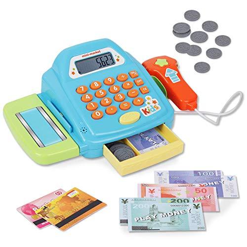 Playkidz Interactive Toy Cash Register for Kids