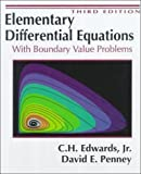 Elementary Differential Equations with Boundary 9780132534109