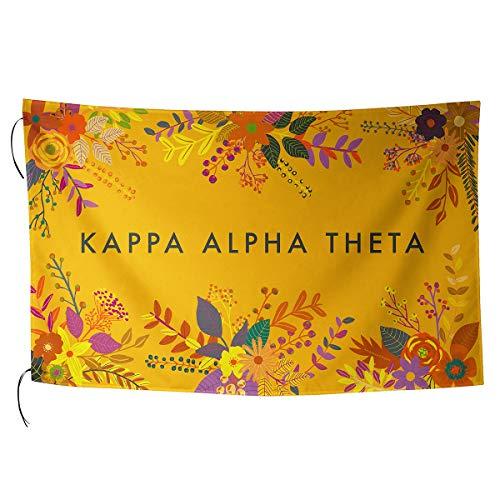 (Alexandra And Company Sublimated Flag, Kappa Alpha Theta )