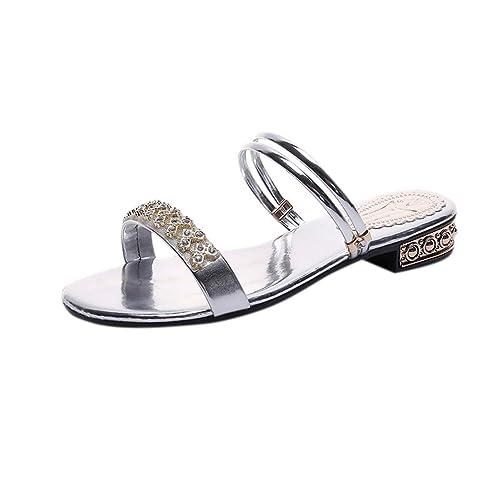 scarpe di separazione 68d17 6c43a Offerte Scarpe Donna Eleganti con Tacco Medio VJGOAL Sexy ...