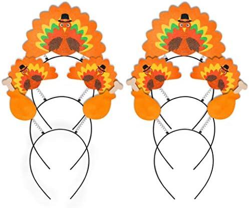Geefuun Thanksgiving Turkey Headband Decorations product image