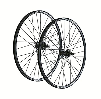 WAG Par de ruedas para mountain bike 26 pulgadas, Kommando Disc, 10 V, negro (2 ruedas): Amazon.es: Deportes y aire libre