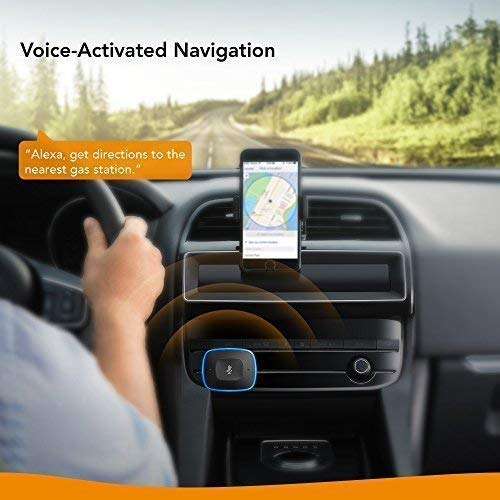 Roav VIVA Pro, by Anker, Alexa-Enabled 2-Port USB Car Charger for Navigation, Hands-Free Calling, and Music. For Cars with Bluetooth/CarPlay/Android Auto/Aux-In/FM Reception by Roav (Image #2)