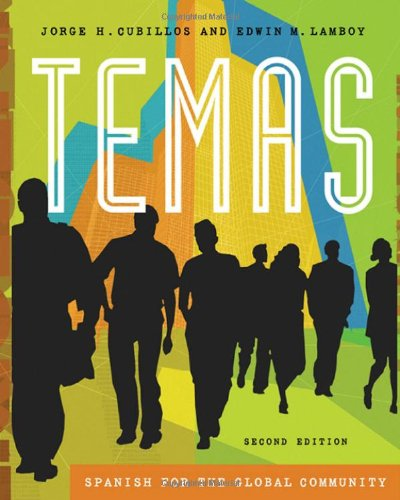 Temas: Spanish for the Global Community (with Audio CD) (Available Titles CengageNOW)