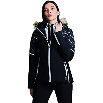 848abf6516 Dare2B Women s Providence and Breathable Ski Waterproof Insulated Jacket