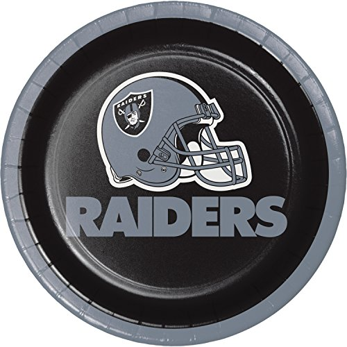 - Oakland Raiders Dessert Plates, 24 ct