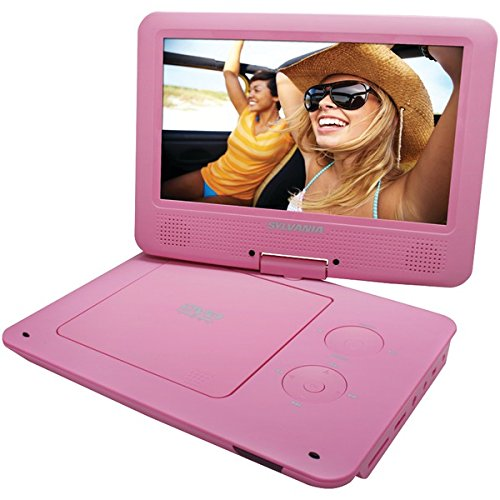 sylvania-sdvd9020b-pink-9-portable-dvd-players-with-5-hour-battery-pink