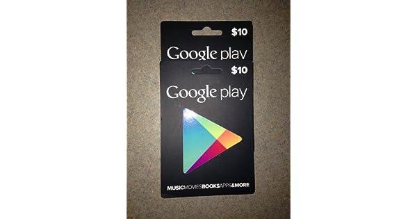 Amazon.com: $20 en tarjetas de regalo de Google Play ...