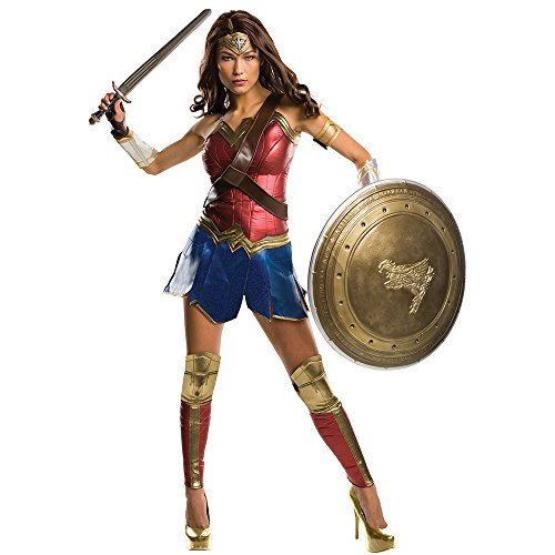 Wonder Woman Grand Heritage Batman vs Superman Justice League Costume + Coolie (L) -