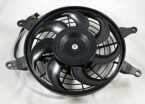 New Can Am Outlander Renegade Radiator Cooling Fan 400 500 650 800 709200371 (Outlander 400 Radiator compare prices)