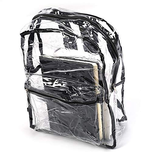 Amazon.com: Transparent Backpack Bags PVC Clear School Fashion Girls Bagpack for Women 2018 Mochila escolar: Kitchen & Dining