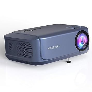 Proyector , Video Proyector LED 3800 lúmenes Cine en casa ...