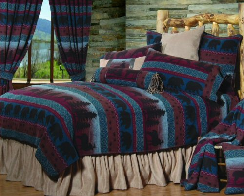 Wooded River WDFQ50 88 by 92-Inch Queen Bedspread by Wooded River