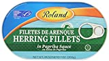Roland Herring Fillets, Paprika Sauce, 7 Ounce (Pack of 6)