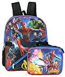 Marvel Boys' Avengers Infinity War Lunch Backpack, Blue, One Size