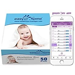 Easy@Home Ovulation Test Strips, 50 Pack...