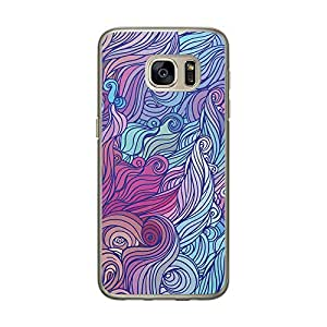 Loud Universe Samsung Galaxy S7 Hair Hairs 6 Designed Transparent Edge Case - Multi Color